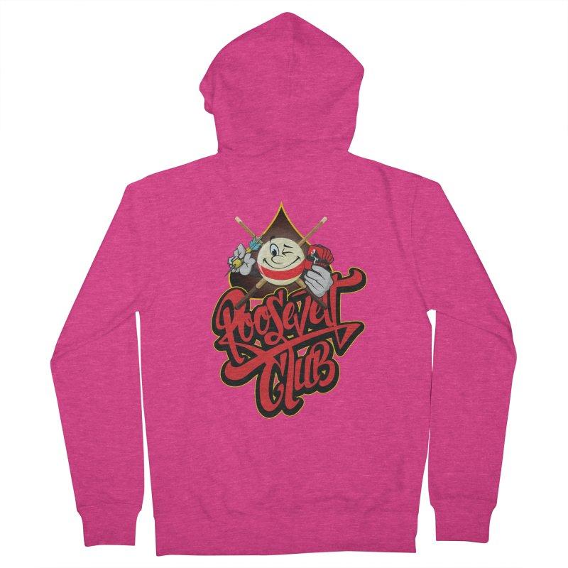 Roosevelt Club Logo Women's Zip-Up Hoody by goofyink's Artist Shop