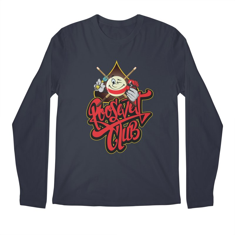 Roosevelt Club Logo Men's Regular Longsleeve T-Shirt by goofyink's Artist Shop