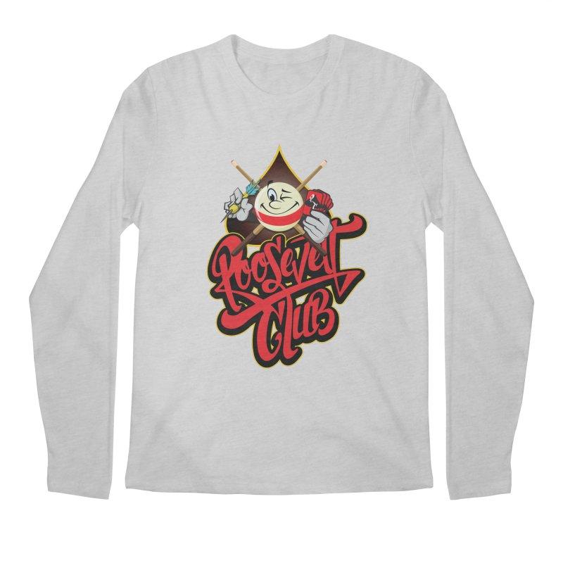 Roosevelt Club Logo Men's Regular Longsleeve T-Shirt by goofyink's Artist Shop
