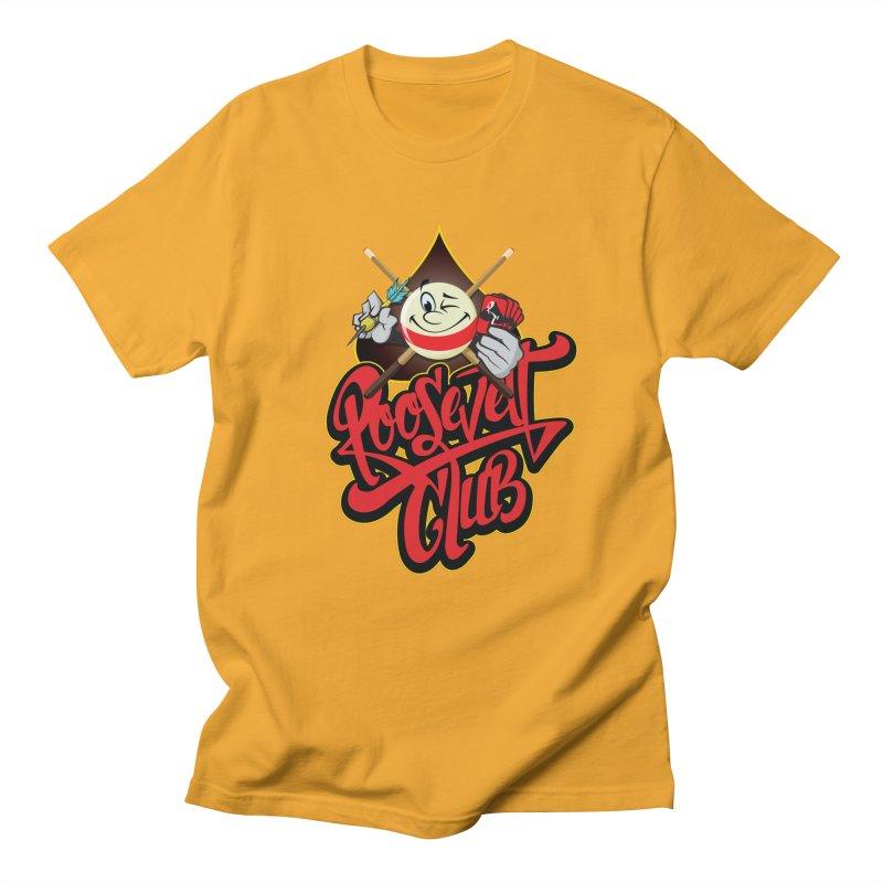 Roosevelt Club Logo Men's Regular T-Shirt by goofyink's Artist Shop