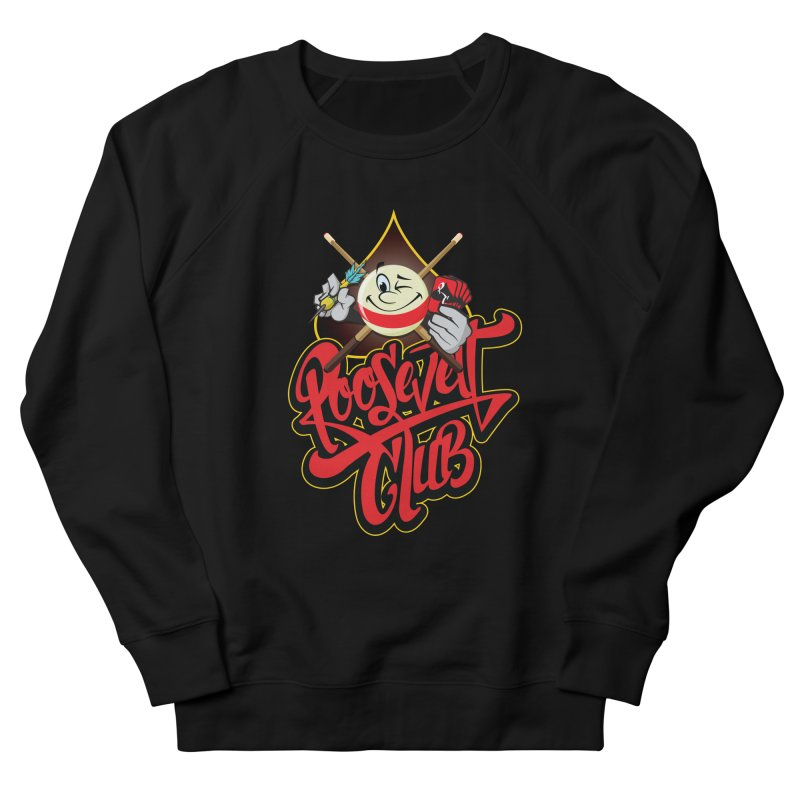 Roosevelt Club Logo Women's French Terry Sweatshirt by goofyink's Artist Shop