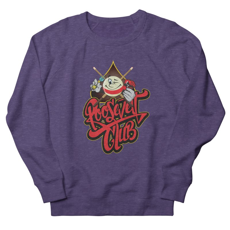 Roosevelt Club Logo Men's French Terry Sweatshirt by goofyink's Artist Shop
