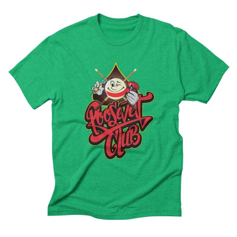 Roosevelt Club Logo Men's Triblend T-Shirt by goofyink's Artist Shop