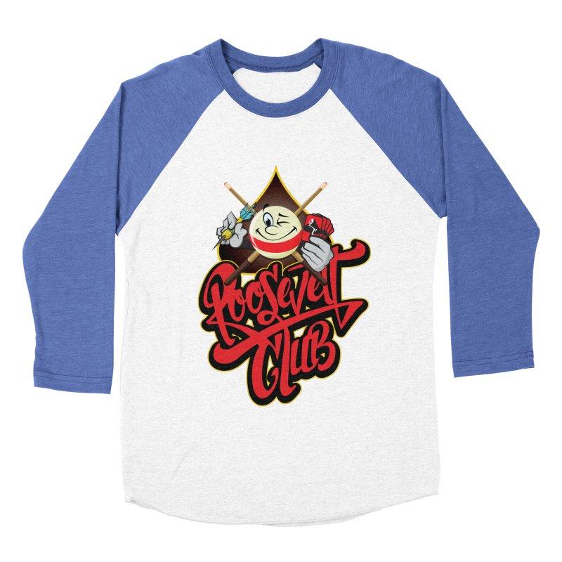 Roosevelt Club Logo Women's Baseball Triblend Longsleeve T-Shirt by goofyink's Artist Shop