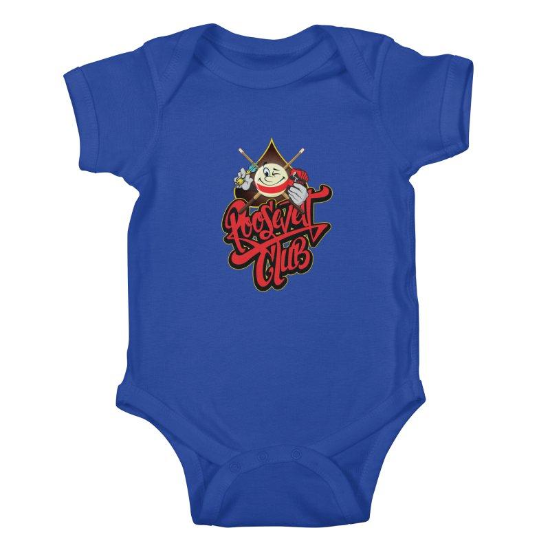 Roosevelt Club Logo Kids Baby Bodysuit by goofyink's Artist Shop