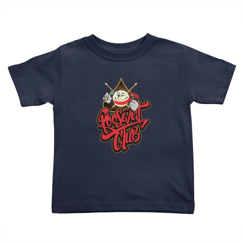Roosevelt Club Logo Kids Toddler T-Shirt by goofyink's Artist Shop