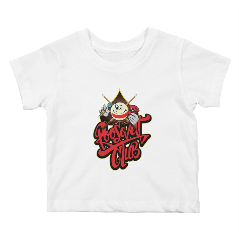 Roosevelt Club Logo Kids Baby T-Shirt by goofyink's Artist Shop