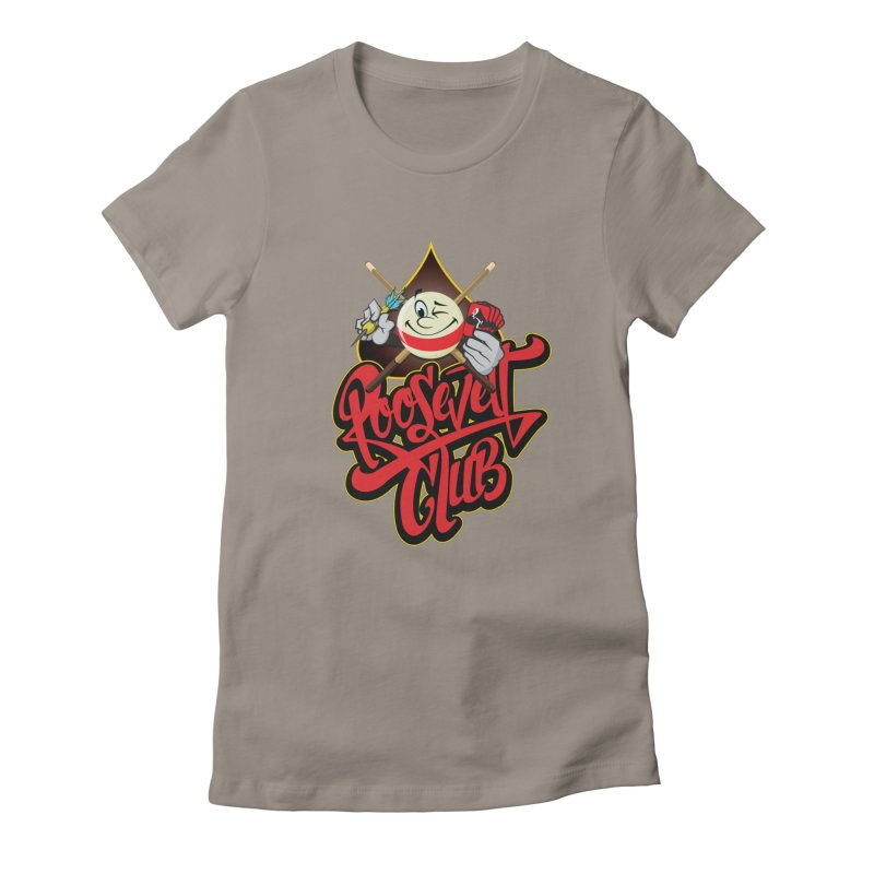 Roosevelt Club Logo Women's T-Shirt by goofyink's Artist Shop