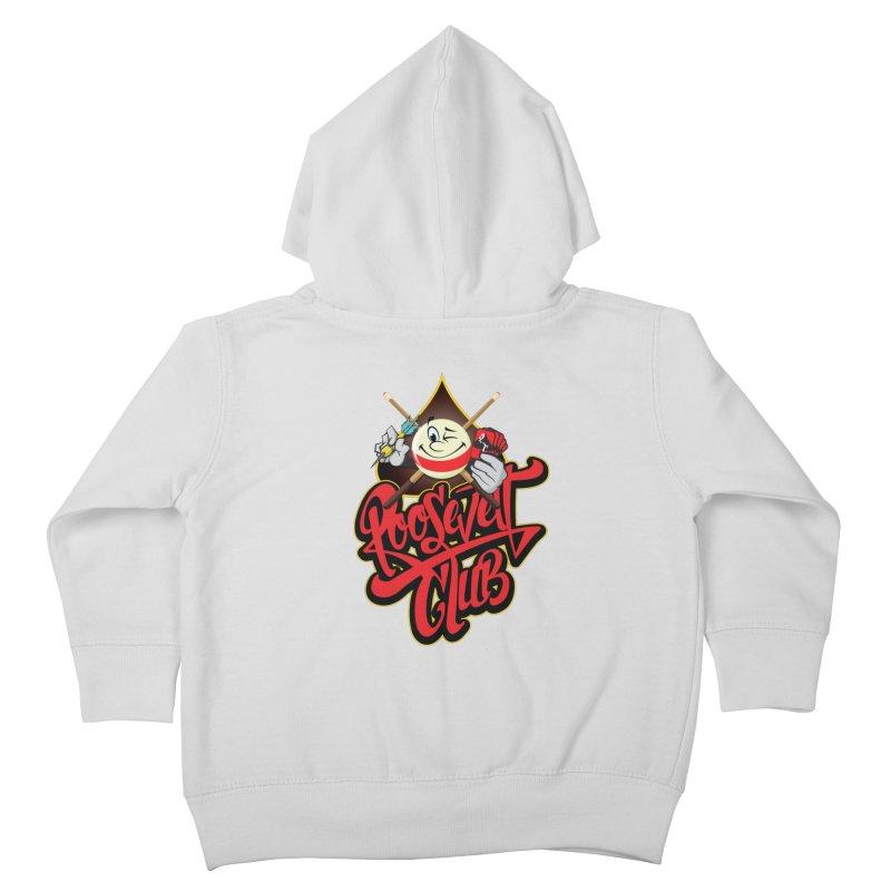 Roosevelt Club Logo Kids Toddler Zip-Up Hoody by goofyink's Artist Shop
