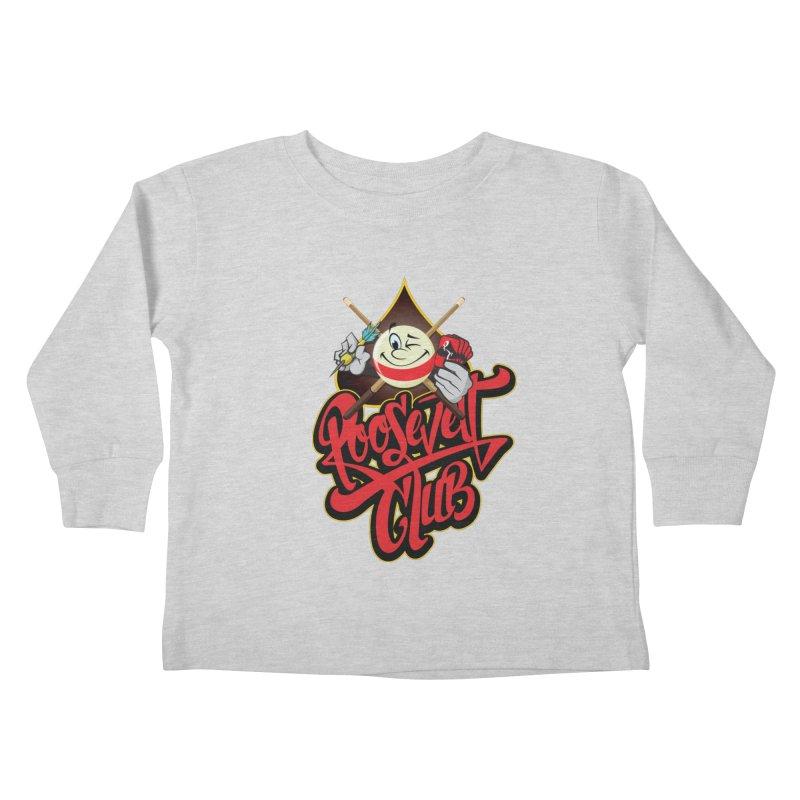 Roosevelt Club Logo Kids Toddler Longsleeve T-Shirt by goofyink's Artist Shop