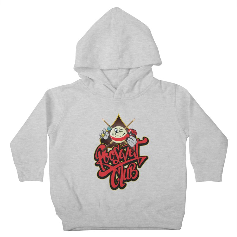 Roosevelt Club Logo Kids Toddler Pullover Hoody by goofyink's Artist Shop