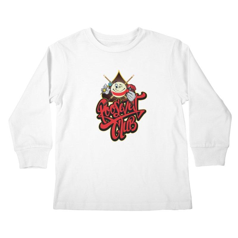 Roosevelt Club Logo Kids Longsleeve T-Shirt by goofyink's Artist Shop