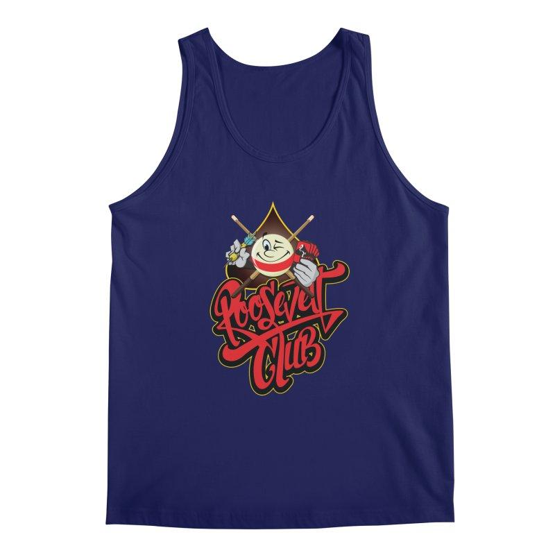 Roosevelt Club Logo Men's Regular Tank by goofyink's Artist Shop