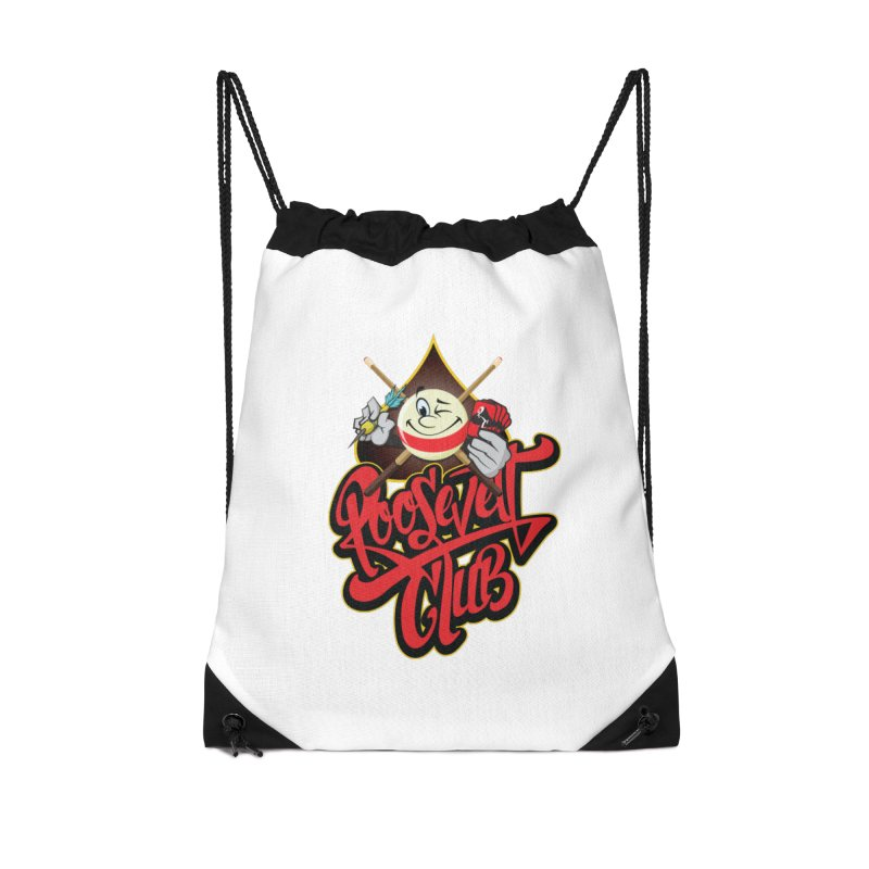 Roosevelt Club Logo Accessories Bag by goofyink's Artist Shop