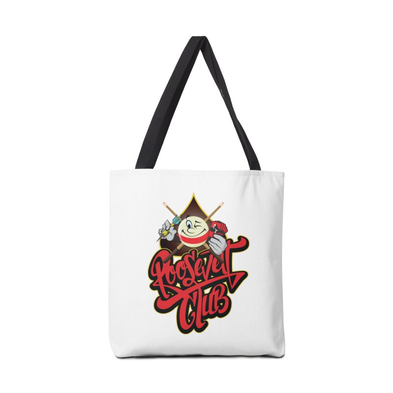 Roosevelt Club Logo Accessories Bag by goofyink's Artist Shop