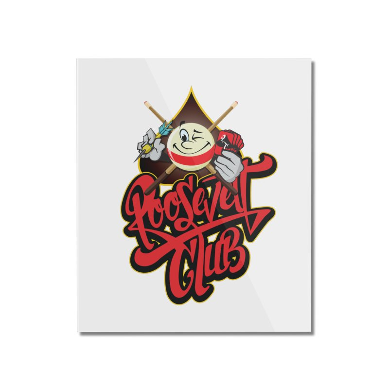 Roosevelt Club Logo Home Mounted Acrylic Print by goofyink's Artist Shop