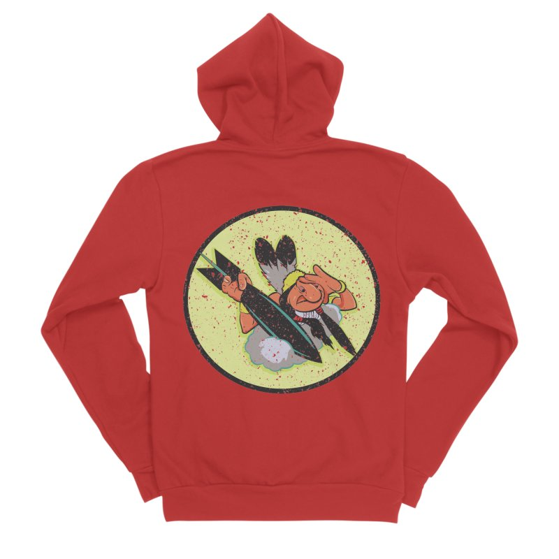 462nd bomber squadron Women's Zip-Up Hoody by goofyink's Artist Shop