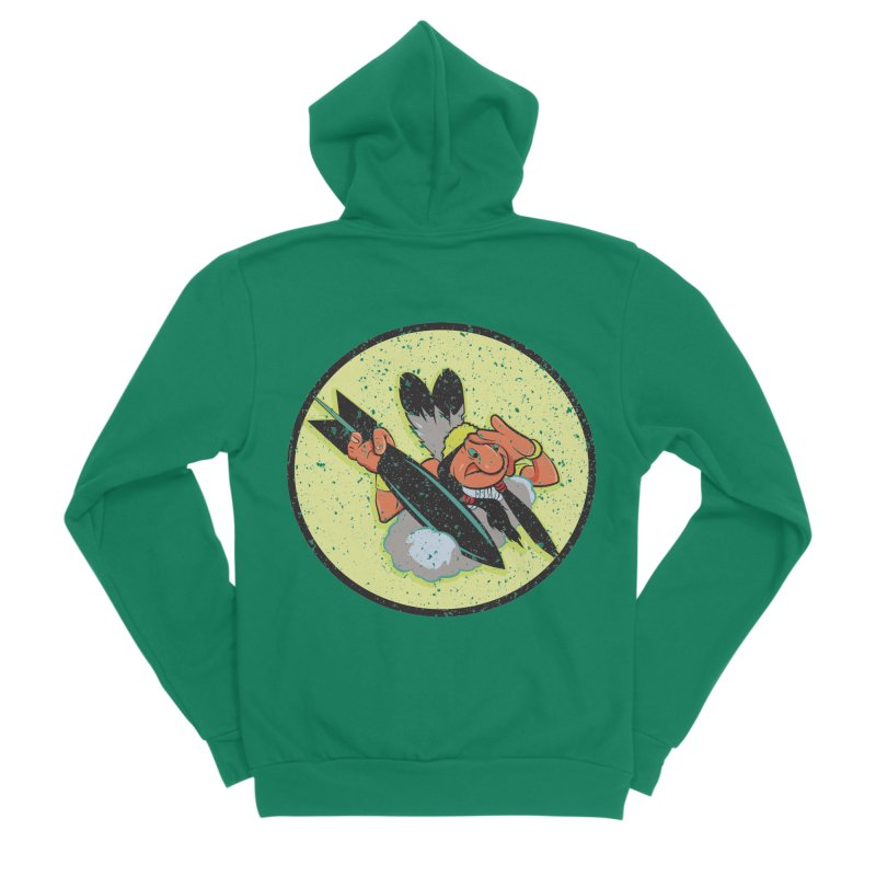 462nd bomber squadron Women's Sponge Fleece Zip-Up Hoody by goofyink's Artist Shop