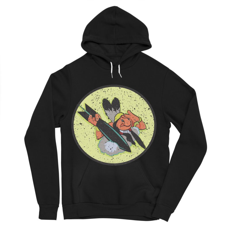 462nd bomber squadron Men's Sponge Fleece Pullover Hoody by goofyink's Artist Shop