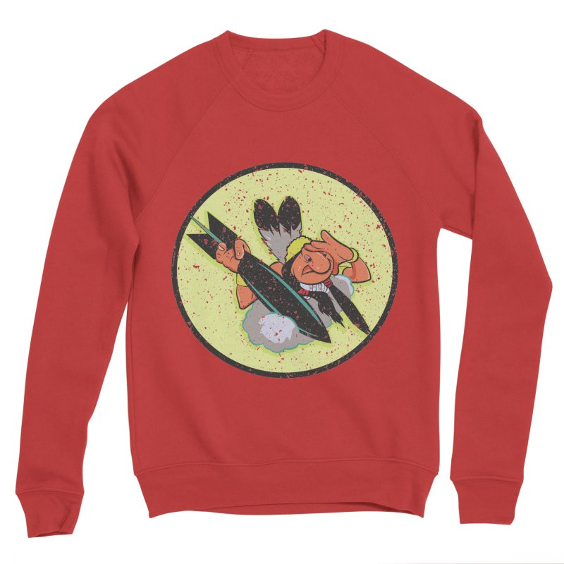 462nd bomber squadron Women's Sponge Fleece Sweatshirt by goofyink's Artist Shop