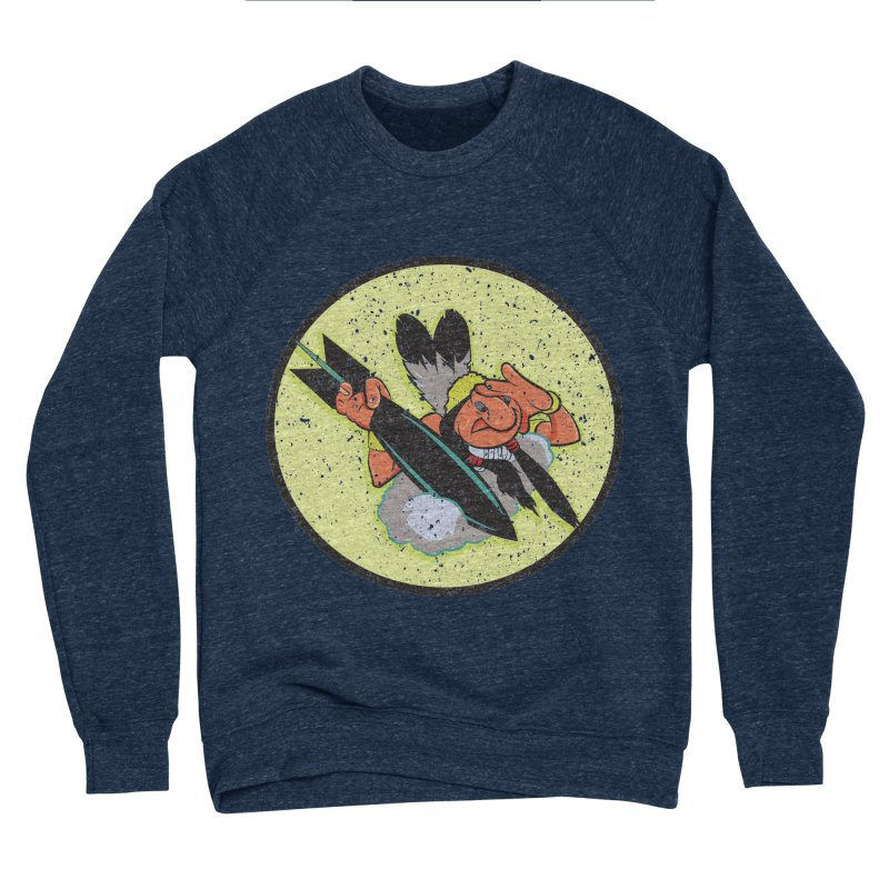 462nd bomber squadron Men's Sponge Fleece Sweatshirt by goofyink's Artist Shop