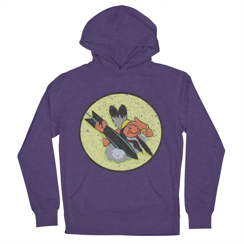 462nd bomber squadron Women's French Terry Pullover Hoody by goofyink's Artist Shop