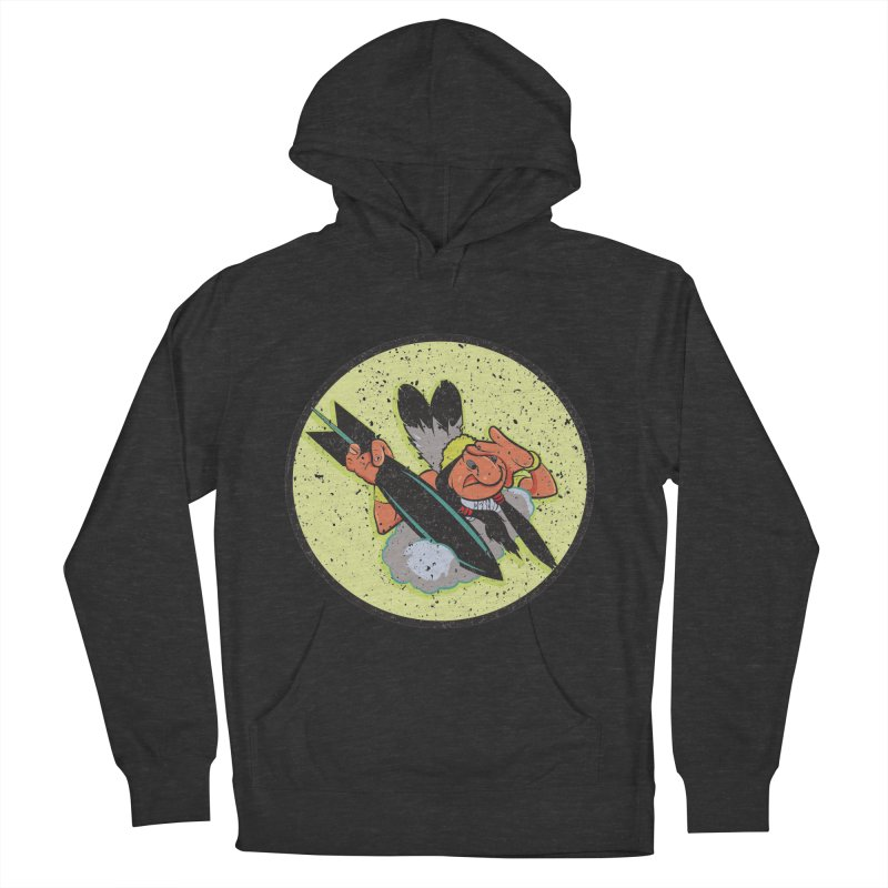 462nd bomber squadron Men's French Terry Pullover Hoody by goofyink's Artist Shop