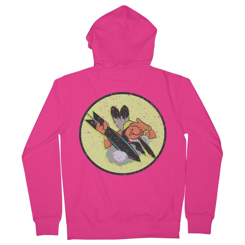 462nd bomber squadron Men's Zip-Up Hoody by goofyink's Artist Shop