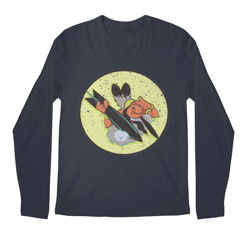 462nd bomber squadron Men's Regular Longsleeve T-Shirt by goofyink's Artist Shop