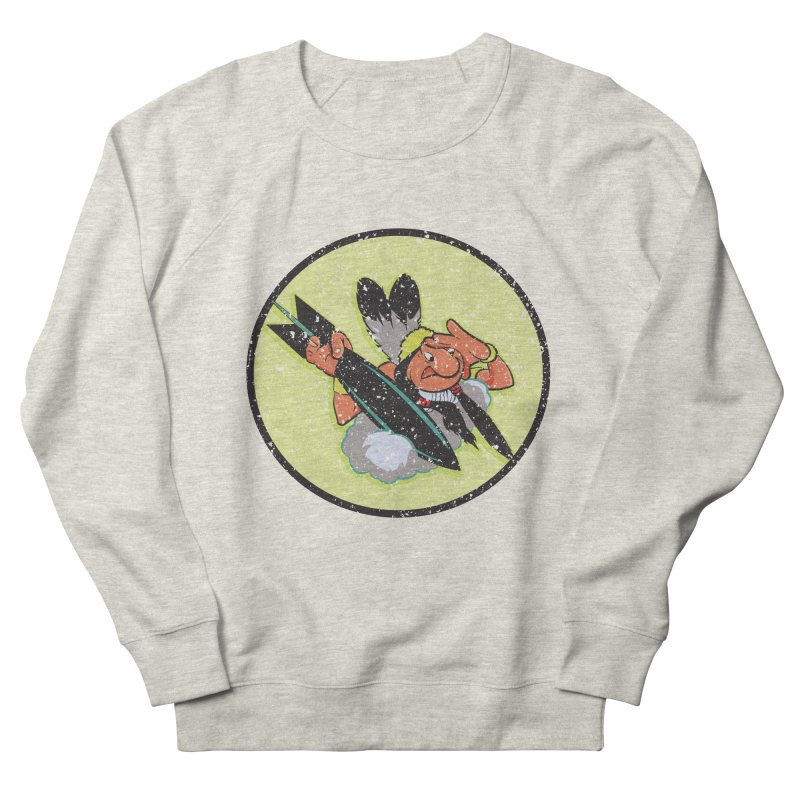 462nd bomber squadron Men's French Terry Sweatshirt by goofyink's Artist Shop