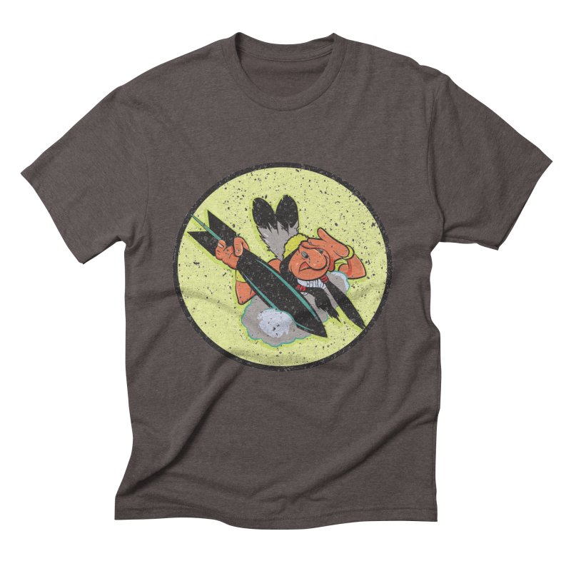 462nd bomber squadron Men's Triblend T-Shirt by goofyink's Artist Shop