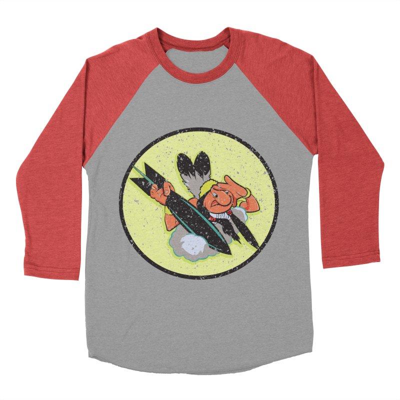 462nd bomber squadron Men's Baseball Triblend Longsleeve T-Shirt by goofyink's Artist Shop