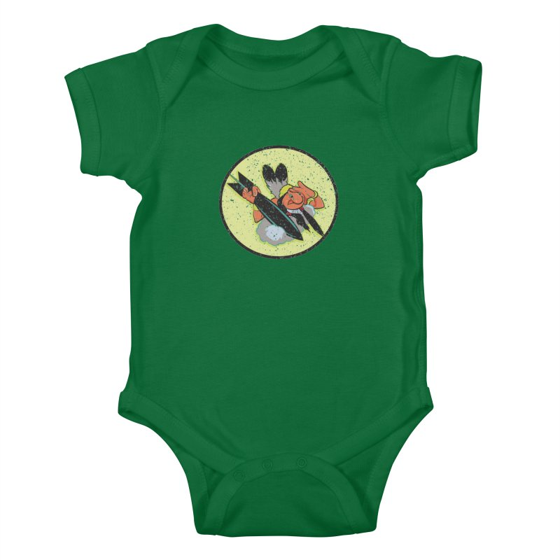 462nd bomber squadron Kids Baby Bodysuit by goofyink's Artist Shop