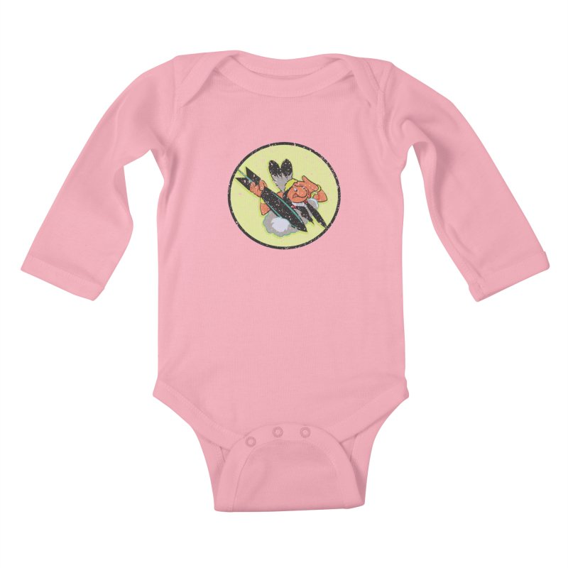 462nd bomber squadron Kids Baby Longsleeve Bodysuit by goofyink's Artist Shop