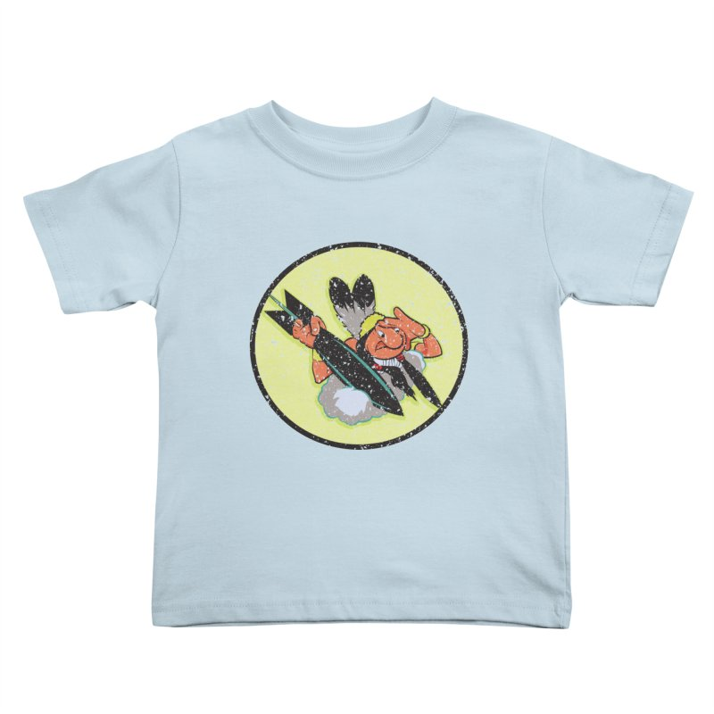 462nd bomber squadron Kids Toddler T-Shirt by goofyink's Artist Shop