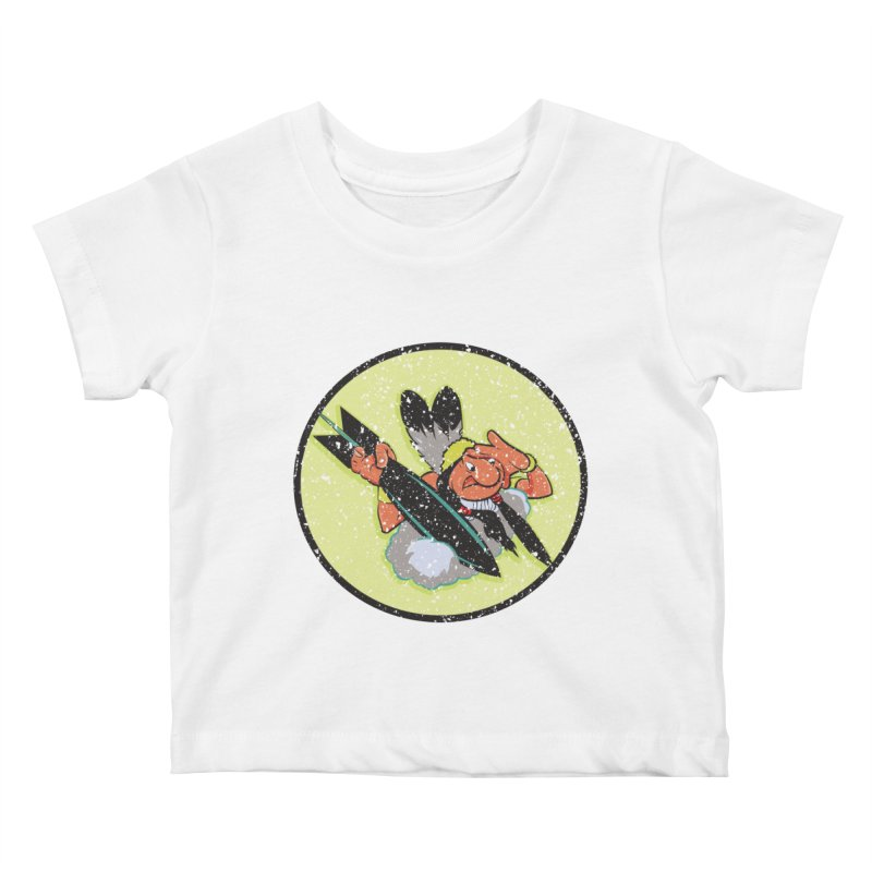 462nd bomber squadron Kids Baby T-Shirt by goofyink's Artist Shop