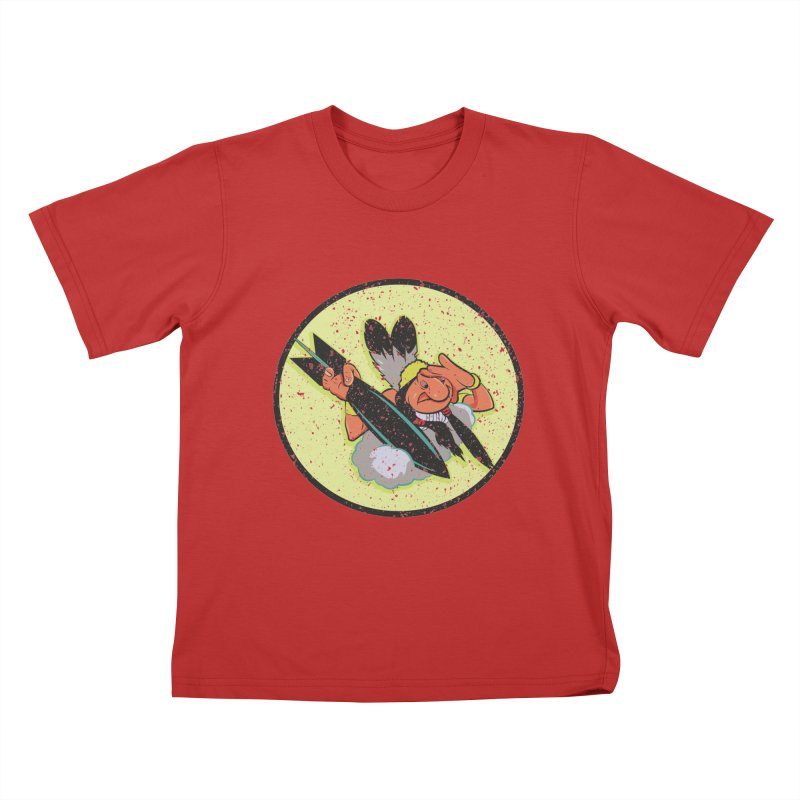 462nd bomber squadron Kids T-Shirt by goofyink's Artist Shop