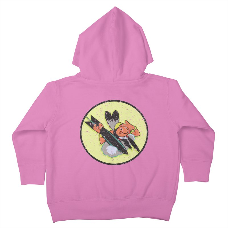 462nd bomber squadron Kids Toddler Zip-Up Hoody by goofyink's Artist Shop