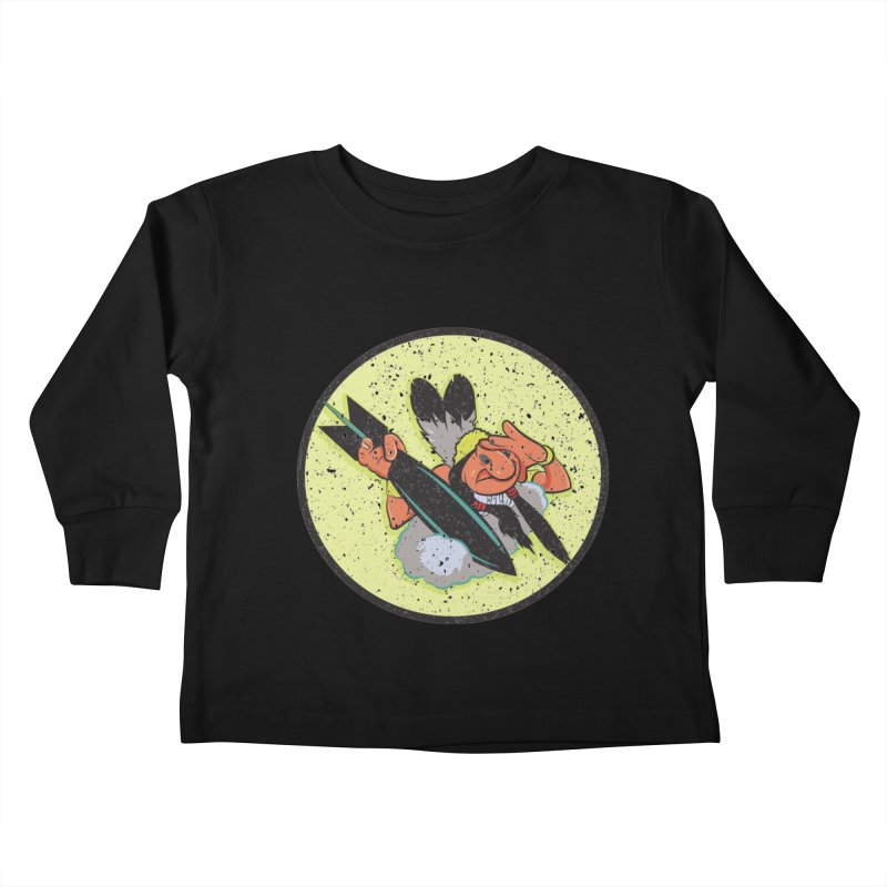 462nd bomber squadron Kids Toddler Longsleeve T-Shirt by goofyink's Artist Shop