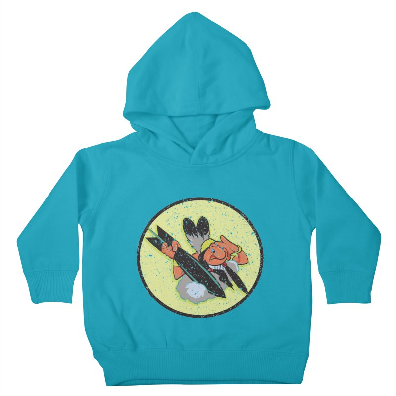 462nd bomber squadron Kids Toddler Pullover Hoody by goofyink's Artist Shop