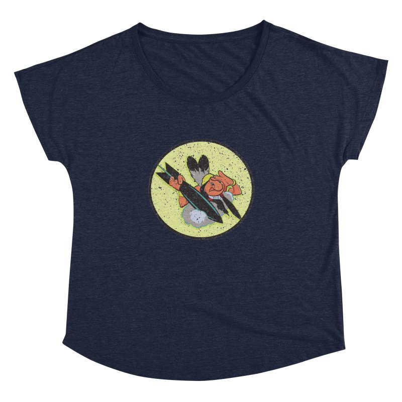 462nd bomber squadron Women's Dolman Scoop Neck by goofyink's Artist Shop