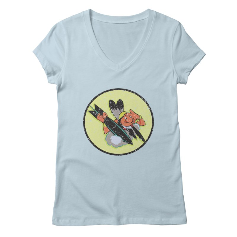 462nd bomber squadron Women's V-Neck by goofyink's Artist Shop