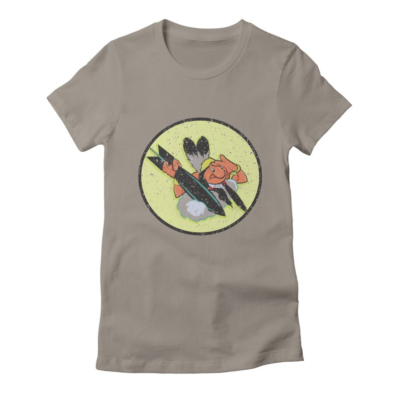462nd bomber squadron Women's Fitted T-Shirt by goofyink's Artist Shop