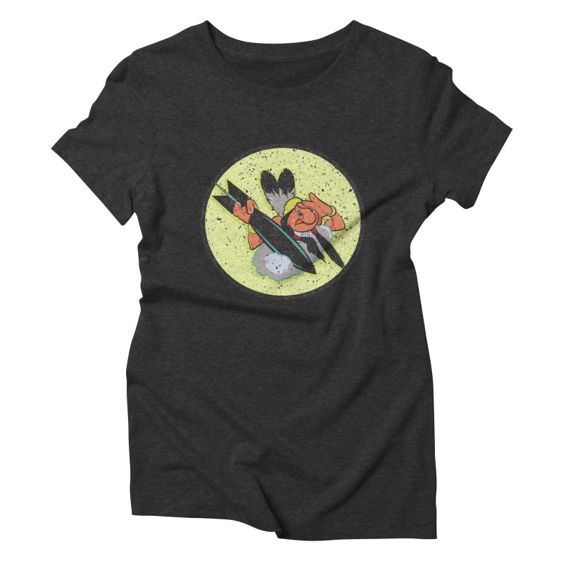 462nd bomber squadron Women's Triblend T-Shirt by goofyink's Artist Shop