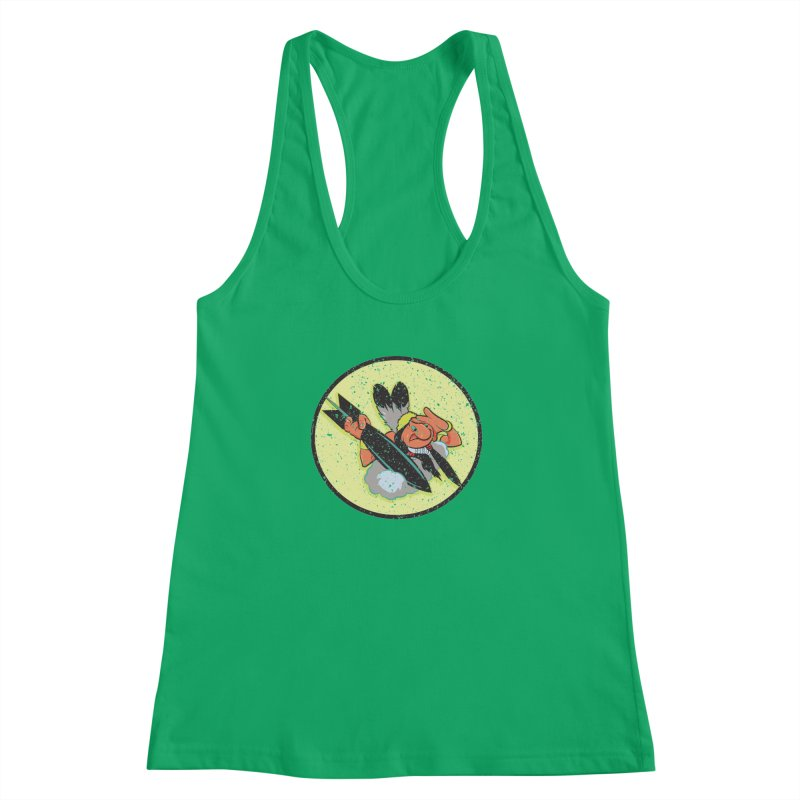 462nd bomber squadron Women's Racerback Tank by goofyink's Artist Shop