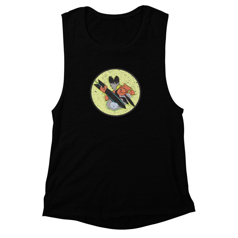 462nd bomber squadron Women's Muscle Tank by goofyink's Artist Shop