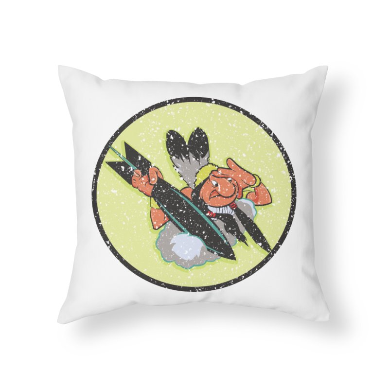 462nd bomber squadron Home Throw Pillow by goofyink's Artist Shop