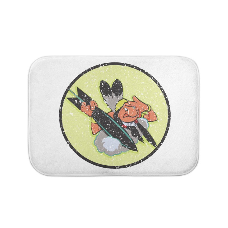 462nd bomber squadron Home Bath Mat by goofyink's Artist Shop