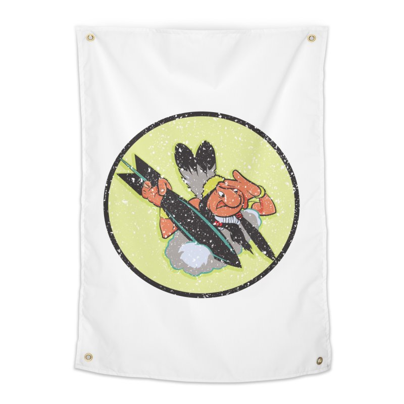 462nd bomber squadron Home Tapestry by goofyink's Artist Shop