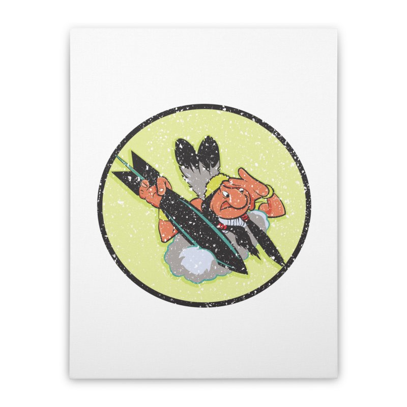 462nd bomber squadron Home Stretched Canvas by goofyink's Artist Shop